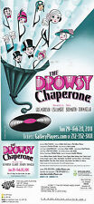 THE DROWSY CHAPERONE - MUSICAL PLAY ADVERTISING COLOUR POSTCARD