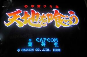 Warriors of Fate CPS PCB Arcade Video Game Capcom 1989