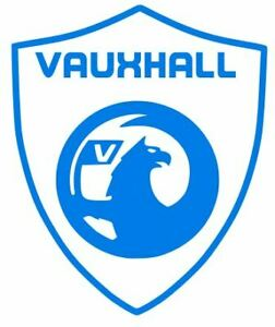 4 x CUSTOM VAUXHALL SHIELD CAR DECAL STICKERS FREE P&P 21 COLOURS IN STOCK L@@K