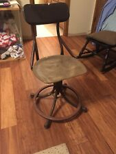 Vintage Office Chair swivel, height adjustable