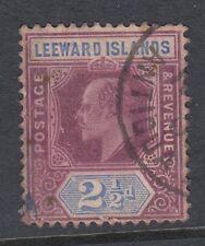 Leeward Islands 1905-8 SG#32, 2.5d Dull Purple & Ultramarine KEVII Used