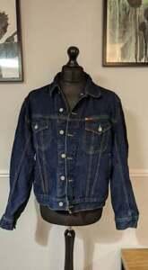 Vintage Retro 90's Lee Cooper Colorado Blue Denim Jacket - Men's L