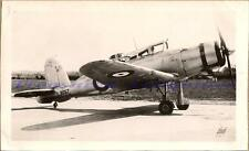 WWII British Fleet Air Arm Blackburn B-25 Roc Prototype Fighter Airplane Photo
