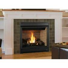 Superior Merit Plus Direct-Vent Gas Fireplace, Front View, Top Vent