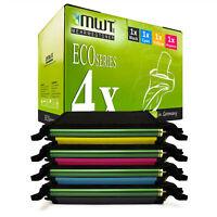 4x ECO Toner für Samsung CLX-6250-FX CLP-620-ND CLX-6220-FX CLP-670-N CLP-670-ND