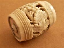 COUTURE NECESSAIRE DE PORTE BOBINE  ANCIEN FORME TONNEAU SEWING MACHINE A COUDRE