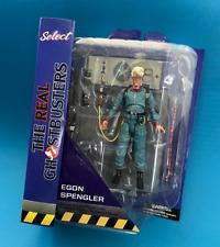 Egon Spengler Deluxe Real Ghostbusters Diamond Select Series 9 - Rare!