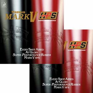 Yasaka Mark V HPS DOPPELPACK / Tischtennisbelag / NEU / zum Sonderpreis