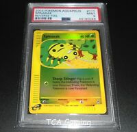 PSA 9 MINT Spinarak 111/147 Aquapolis Set REVERSE HOLO Pokemon Card