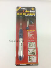 NEW GAS SOLDERING IRON WITH PENCIL & TORCH TIPS