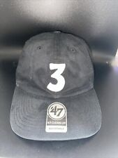"""Chance the Rapper """"3"""" Embroidered Hat Adjustable Great Condition NEW"""