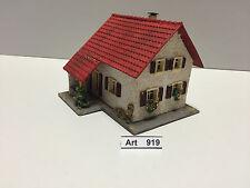 Faller 205 H0 Haus,Fertighaus,1953, 1:87,rote Faller Marke, sehr selten und RAR
