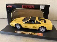 ANSON FERRARI 328 GTS BOXED 1.18 GREAT CONDITION