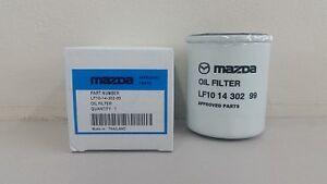 Mazda Engine Oil Filter to suit various models, Genuine - LF10-14-30299