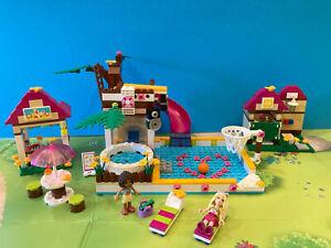 Lego Friends 41008 Großes Schwimmbad Vollständig mit Anleitung und OVP