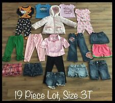 Girls Clothing Lot, 3T, 19 Items, Baby Gap, George, Arizona, Old Navy, My Little