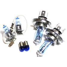 Vauxhall Cavalier MK2 55w Tint Xenon HID High/Low/Fog/Side Headlight Bulbs Set