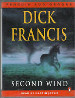 Dick Francis Second Wind 2 Cassette Audio Book Martin Jarvis Abridged Thriller