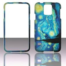 For Samsung Galaxy S5 i9600 Starry Night Plan Case Hard Snap On Cover