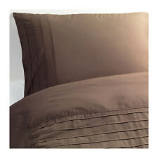*New Ikea Alvine Stra Double Duvet /Quilt Cover & Pillowcases 201.726.27 - Brown