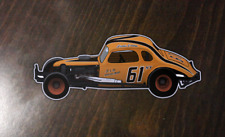 Richie Evans - #61 Coupe - Custom made sticker