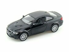 "Brand New 5"" Kinsmart BMW M3 Coupe E92 Diecast Model Toy Car 2 Door 1:36 BLACK"