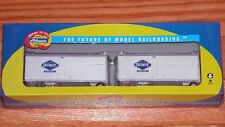 ATHEARN 29150 28' WEDGE TRAILERS (2) OVERNITE