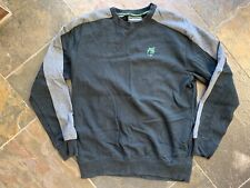 The Hundreds Crew Sweatshirt with pockets Black sz L Large