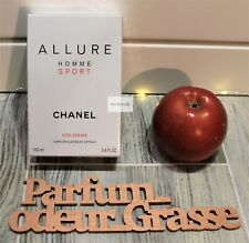 CHANEL Allure Homme Sport Cologne EDT 3.4 Oz / 100 ml *100% AUTHENTIC! SEALED!*