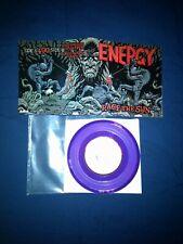 "Energy Race The Sun 7"" Purple Vinyl Record Bridge Nine Records"