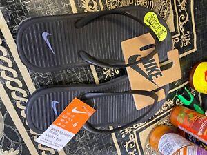 Solarsoft Thong 2 UK 3.5 EU 45 CM 29 Black/Cool Grey 488160-090 genuine Nike