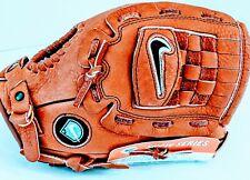 "NEW Nike Baseball Glove Diamond Ready 12"" Soft Leather Dri Fit Right Hand Throw"