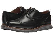 Cole Haan Men's Original Grand Shortwing Oxfords Black/Grey C26470 US Sizes