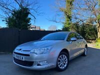 2010 CITROEN C5 VTR + NAV, 1.6 HDI IN SILVER, 55 MPG, CRUISE, CLIMATE,