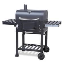 XL Smoker BBQ Grillwagen Holzkohle Grill Grillkamin Standgrill Räucherofen