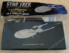 "Star Trek USS Enterprise NCC-1701-E Special Issue XL 10.5"" w/ Magazine Eaglemoss"