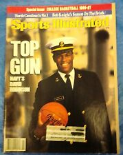 SPORTS ILLUSTRATED SPECIAL ISSUE COLLEGE BASKETBALL 1986-1987 DAVID ROBINSON