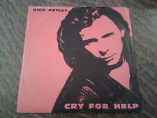45 tours rick astley cry for help