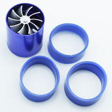 Universal Dual Performance Supercharger Turbine Turbo Air Intake Fuel Gas Saver