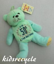 """Skansen Special Edition Bear Beanie """"You're a Star of the 50s"""" (pale blue/mint)"""