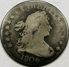 1806 Draped Bust Quarter Dollar Abt. VG... So Very NICE & ORIGINAL!! Great COIN!