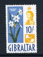 Gibilterra 1960 QEII 10 / - ROCK LILY SG 172 MNH (leggera piega, non di una piega)