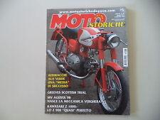 MOTO STORICHE E D'EPOCA 5/2003 DKW ULD 500/KAWASAKI Z 1000/MV AGUSTA 98 SPORT
