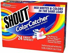 Shout Color Catcher In-Wash Dye-Trapping Sheets 24 ea (Pack of 6)