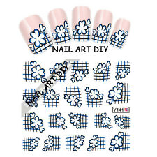 20 Nail Art Water Transfer Stickers-FRENCH Adesivi Unghie-BUY 3 GET 1 FREE!!!