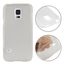 Samsung Galaxy S5 Mini Cover Schutzhülle TPU Silikon Matt Weiss