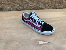 Vans Old Skool Leopard Sneaker , Black Pink White , Sz 11 ( RIGHT SHOE ONLY )