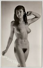 #31 Rössler nudo 13 x 9 NUDE WOMAN study * VINTAGE 50s Studio Photo-no PC
