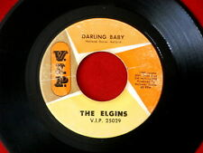 ELGINS~ DARLING BABY~ VG~ PUT YOURSELF IN MY PLACE~ VIP 25029~ SOUL 45