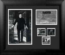 Film Cell Genuine 35mm Framed Matted Frankenstein Boris Karloff USFC2425 New